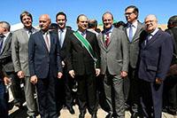 Presença de Renato Cunha, Presidente do SINDAÇÚCAR/PE, na  Cerimônia de Imposição da Ordem do Mérito Anhanguera em Goiás, dia 25/julho/2017