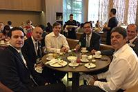 Renato Cunha, Presidente do SINDAÇÚCAR/PE, participando de café da manhã com os membros do Fórum Nacional Sucroenergético, no Hotel Grande Hyatt em São Paulo, dia 17/outubro/2016
