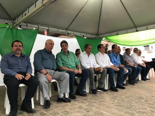 Início moagem na Usina Cruangi/Coaf, com as presenças de Renato Cunha, Presidente do SINDAÇÚCAR/PE, Paulo Câmara, Governador de Pernambuco, Associação dos Fornecedores de Cana de Pernambuco, <br>Sindicato dos Cultivadores de Cana, dia 04/setembro/2018