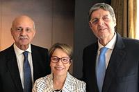 Negociações exitosas para o Brasil entre  Mercosul e União Europeia. Participando Renato Cunha, Presidente do SINDAÇÚCAR/PE, Tereza Cristina, Ministra da Agricultura e </br>Pedro Robério do SINDAÇÚCAR/AL, em Bruxelas/Bélgica, dia 26/junho/2019