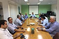 Renato Cunha, Presidente, e Plinio Nastari da Datagro/SP em palestra e reunião de trabalho com os Associados no SINDAÇÚCAR/PE, dia 16/janeiro/2017