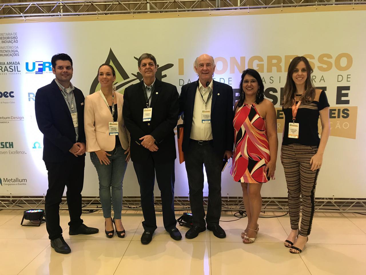 Renato Cunha, Presidente do SINDAÇÚCAR/PE, participando do I Congresso Bioquerosene e Hidrocarbonetos Renováveis, na cidade de Natal/RN, dia 07/junho/2019