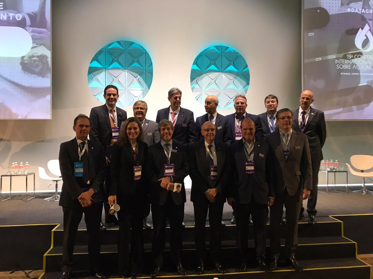 Renato Cunha, Presidente do SINDAÇÚCAR/PE, participando da 19a. Conferência Internacional Datagro sobre Açúcar e Etanol, no Grand Hyatt São Paulo, dias 28 e 29/outubro/2019