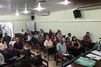 No auditório da sede do SINDAÇÚCAR/PE, realização do Curso de Classificador de Açúcar, atendendo exigência da Instrução Normativa MAPA 42/2017, dia 09/julho/2018