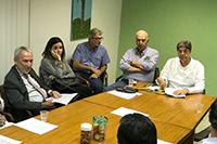 Reunião de nivelamento realizada na sede do SINDAÇÚCAR/PE, sob a presidência de Renato Cunha, com as presenças dos Fornecedores de Cana e Usinas do Estado de Pernambuco, dia 16/outubro/2017
