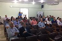 Palestra/reunião sobre Rotinas Licenciamento Ambiental proferida pela Presidente do CPRH, Dra. Simone Souza e Equipe, realizada no auditório do SINDAÇÚCAR/PE, dia 27/março/2017