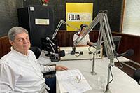 Renato Cunha, Presidente do SINDAÇÚCAR, em entrevista na Rádio Folha PE FM, sobre balanço positivo do setor em 2019, dia 23/dezembro/2019