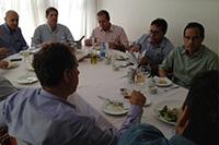 Almoço com colegas do SINDAÇÚCAR-AL e SINDAÇÚCAR-PE em Maceió