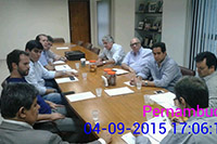 Assembléia de Associadas do SINDAÇÚCAR/PE, para sugestão rateio cota americana, realizada dia 4/setembro/2015