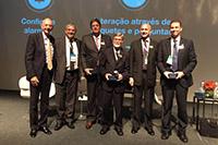 Renato Cunha, Presidente do SINDAÇÚCAR/PE, participando do painel de Acesso a Mercados Externos, na Conferência Internacional DATAGRO, no Hotel Grand Hyatt em São Paulo, dia 17/outubro/2016