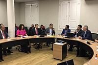 Renato Cunha, Presidente do SINDAÇÚCAR/PE, participando, a convite da FIEPE, de reunião com o Embaixador da Suíça no Brasil, </br>realizada no SDEC - Secretaria do Desenvolvimento Econômico do Estado com o Secretário Bruno Schwambach, dia 19/fevereiro/2019