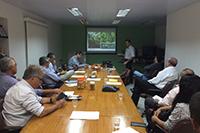 Fórum Ambiental SINDAÇÚCAR/PE, com as presenças dos Professores Valmar Correa de Andrade e Luiz Carlos Marangon, Pesquisadora Francis Lacerda do IPA, entre outros, realizado dia 14/dezembro/2015
