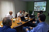 Apresentação da empresa Francesa de mecanização COUP´ ECO no SINDAÇÚCAR/PE em 22/06/2015