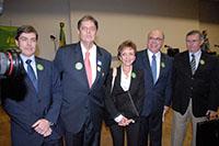 Instalação da Frente Parlamentar Sucroenergética na Câmara em Brasília, dia 5 de novembro.