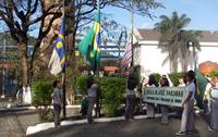 Desfile Cívico da Escola Dr. José Hardaman, da Usina Olho D'água.