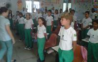 Alunos da Escola da Usina Petribú.