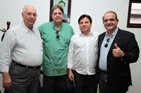 Gerson Carneio Leão, Renato Cunha, Eduardo Farias, Aluizio Lessa.