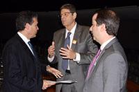 Presença de Renato Cunha, Presidente do SINDAÇÚCAR/PE, no evento em homenagem ao ex-Governador de Pernambuco e Vice-Presidente da República, Dr. Marco Maciel, na Câmara Federal em Brasilia, dia 15/março/2017