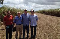 Visita a Usina São José S/A, de técnicos da USDA do Departamento de Agricultura Norte Americano