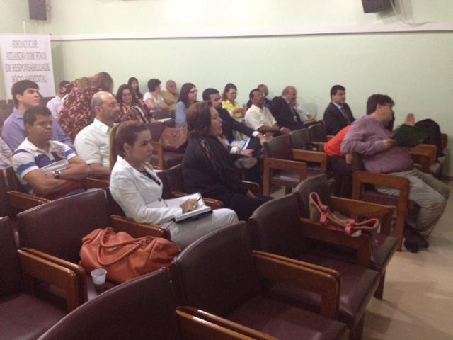 Palestra Dr. Clóvis Queiroz da CNI – Auditório SINDAÇÚCAR