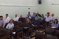 Palestra sobre Código Florestal proferida pelo Dr. Luiz Moraes, com o tema CAR e PRA - Cadastro Ambiental, realizada no auditório do SINDAÇÚCAR/PE, em 26/abril/2016