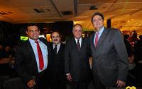 Fernando Lins, Djalma Euzébio, Artur Tavares e Renato Cunha