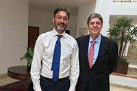 Participando de café da manhã na residência do Embaixador do Reino Unido no Brasil, Sr. Vijay Rangarajan, Renato Cunha, Presidente do SINDAÇÚCAR/PE,<br> aborda crescimento de comércio internacional de açúcar, em Brasília, dia 18/janeiro/2018