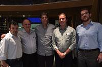 Presidência e Diretoria do SINDAÇÚCAR/PE em almoço com a Tereos Internacional em Recife e Equipe de Dr. Jacyr Costa