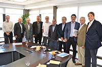 Visita a FIEPE do Vice-Governador de Pernambuco, Raul Henry, recebido pelo Presidente, Ricardo Essinger e pelos Vice-Presidentes, inclusive Renato Cunha, também Vice-Presidente da FIEPE<br> e Presidente do SINDAÇÚCAR/PE, dia 15/maio/2017